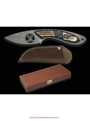 cuchillos de caza damasco