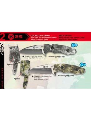 NOVEDAD CUCHILLO K25 KYDEX CUELLO