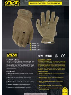 GUANTES TÁCTICO MECHANIX CO