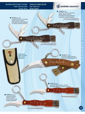 Penknife of mushroom