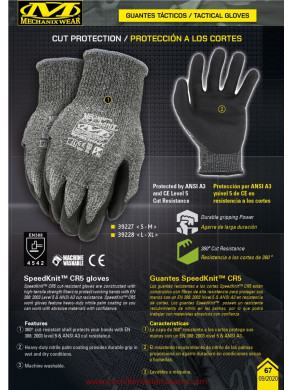 GUANTES MECHANIX ANTICORTE