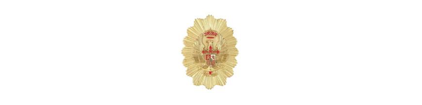 Placas y Medallas policiales y militares