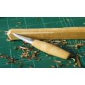 Cuchillos talla de madera