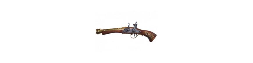 Trabucos , revolveres  y Panoplias